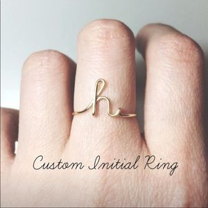 Custom Wire Name Ring handmade by me